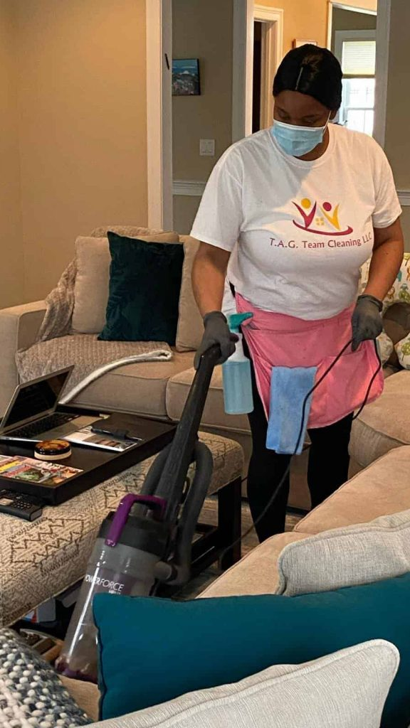 Let our house cleaning team save you time and energy